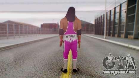 Bret Hart 1 para GTA San Andreas tercera pantalla