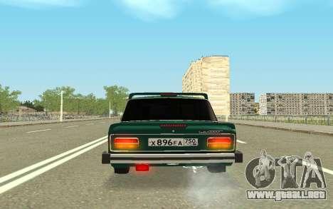 VAZ 2103 Sport tuning para vista lateral GTA San Andreas