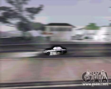 VAZ 2170 para visión interna GTA San Andreas