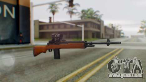 Arma2 M14 Assault Rifle para GTA San Andreas