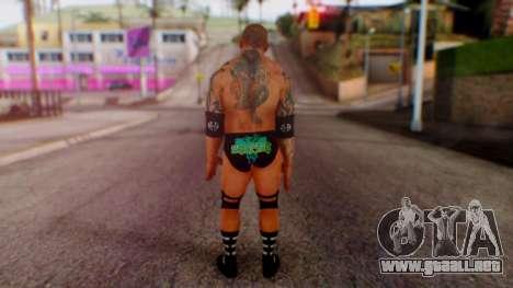 WWE Batista para GTA San Andreas tercera pantalla