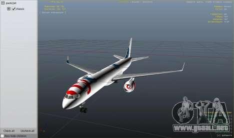 GTA 5 Boeing 757-200 noveno captura de pantalla