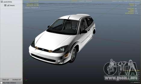 Ford Focus SVT MK1 v1.1 para GTA 5