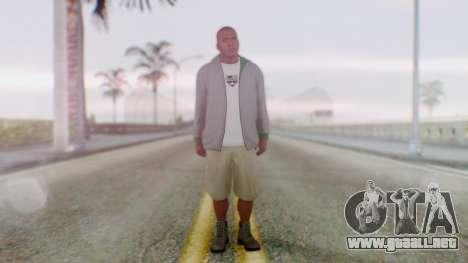GTA 5 Franklin para GTA San Andreas segunda pantalla