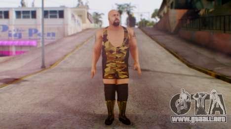 WWE Big Show para GTA San Andreas segunda pantalla