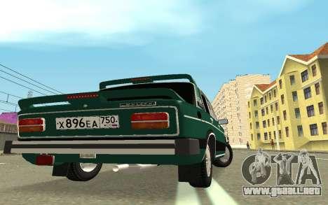 VAZ 2103 Sport tuning para GTA San Andreas vista posterior izquierda