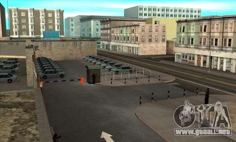 La renovación de las escuelas de manejo en San F para GTA San Andreas segunda pantalla