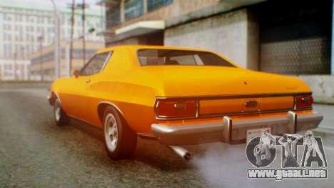 Ford Gran Torino 1974 para la visión correcta GTA San Andreas