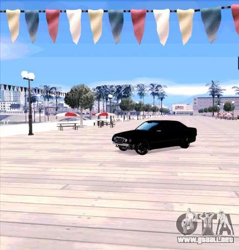 Mercedes Benz E-Class para GTA San Andreas left