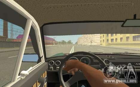 VAZ 2103 Sport tuning para GTA San Andreas vista hacia atrás