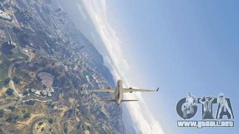 GTA 5 Boeing 757-200 sexta captura de pantalla