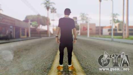 Skin Swagger Sasuke Uchiha para GTA San Andreas tercera pantalla