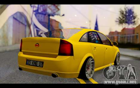 Opel Vectra Special para GTA San Andreas left