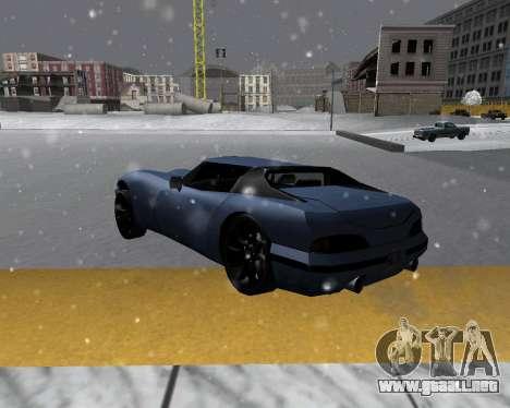 Nueva Banshee con techo para GTA San Andreas left