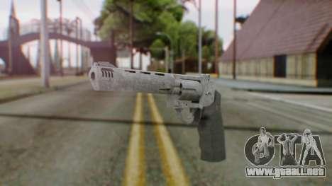 GTA 5 Platinum Revolver para GTA San Andreas