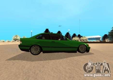 BMW E36 320i para GTA San Andreas left