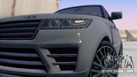 GTA 5 Gallivanter Baller LE LWB IVF para la visión correcta GTA San Andreas