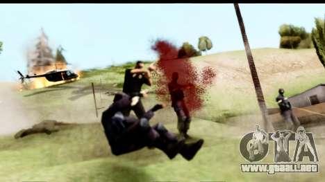 New Effects (IMFX, Shaders) para GTA San Andreas sucesivamente de pantalla