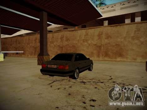 Audi 100 C4 Belarus Edition para GTA San Andreas vista posterior izquierda