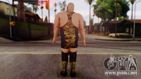 WWE Big Show para GTA San Andreas tercera pantalla