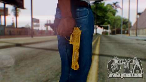GTA 5 VIP Revolver para GTA San Andreas tercera pantalla