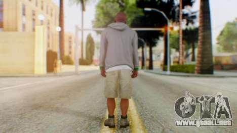 GTA 5 Franklin para GTA San Andreas tercera pantalla