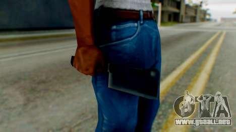 Vice City Meat Cleaver para GTA San Andreas tercera pantalla