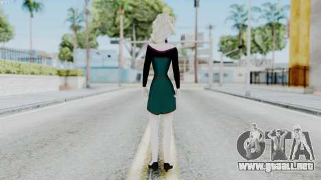 Elsa Regular Skirt Dress para GTA San Andreas tercera pantalla