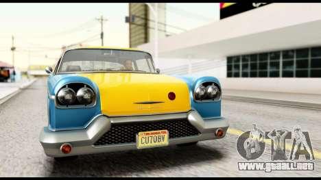 GTA 5 Declasse Cabbie v2 IVF para la visión correcta GTA San Andreas