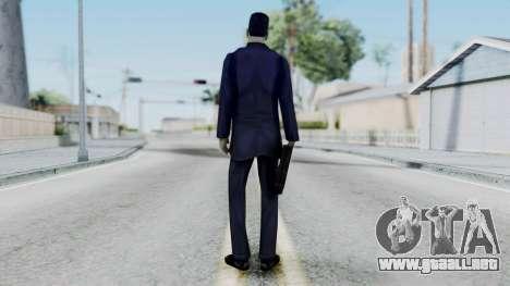 GMAN v1 from Half Life para GTA San Andreas tercera pantalla