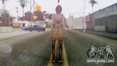 Fatal Frame 4 Ruka para GTA San Andreas tercera pantalla
