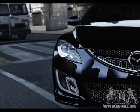 Mazda 6 Sport para GTA 4 visión correcta