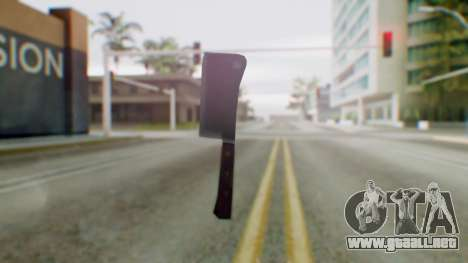 Vice City Meat Cleaver para GTA San Andreas segunda pantalla