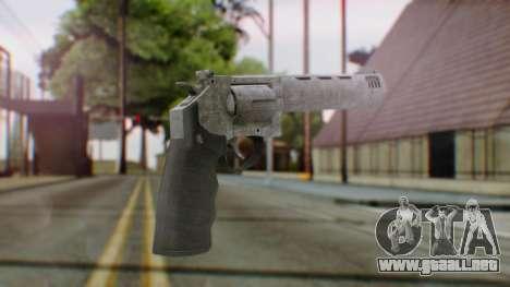 GTA 5 Platinum Revolver para GTA San Andreas segunda pantalla