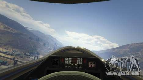 GTA 5 Chengdu J-20 quinta captura de pantalla