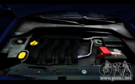 Renault Megane Sedan para la vista superior GTA San Andreas