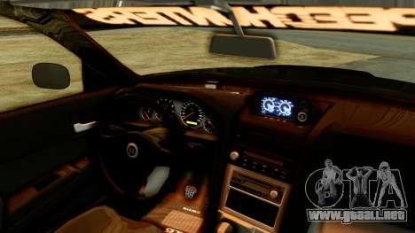 Nissan Skyline GT-R Nismo Tuned para la visión correcta GTA San Andreas