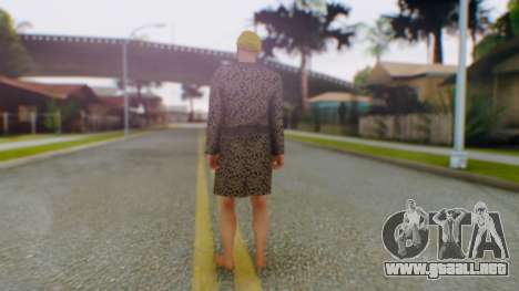 GTA Online Executives and other Criminals Skin 3 para GTA San Andreas tercera pantalla