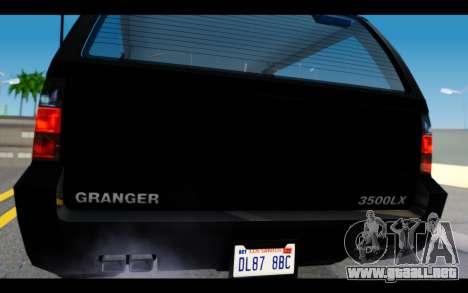 GTA 5 Declasse Granger FIB IVF para la visión correcta GTA San Andreas