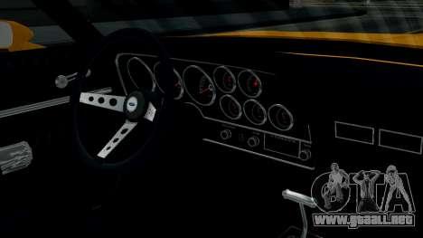 Ford Gran Torino 1974 para visión interna GTA San Andreas