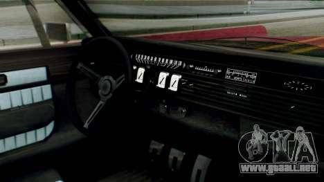GTA 5 Vapid Chino Tunable PJ para la visión correcta GTA San Andreas