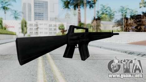 GTA 3 M16 para GTA San Andreas segunda pantalla