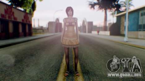 Fatal Frame 4 Ruka para GTA San Andreas segunda pantalla