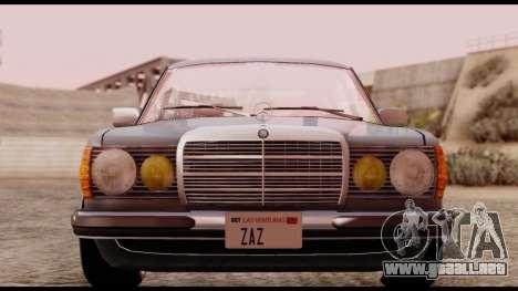 Mercedes-Benz 450SEL para la visión correcta GTA San Andreas