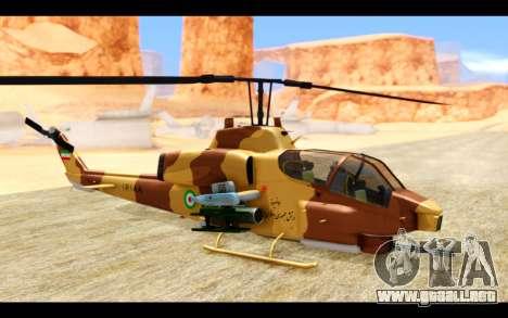 AH-1W IRIAF SuperCobra para GTA San Andreas