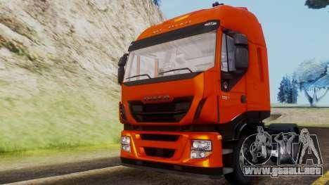 Iveco Stralis HI-WAY para la visión correcta GTA San Andreas