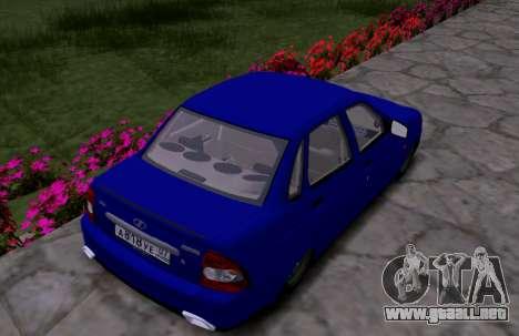 VAZ 2170 KBR para la visión correcta GTA San Andreas