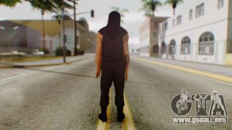 Roman Reigns para GTA San Andreas tercera pantalla