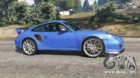 GTA 5 Porsche 997 GT2 RS vista lateral izquierda