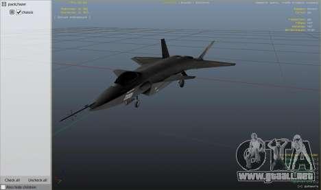 GTA 5 Chengdu J-20 sexta captura de pantalla